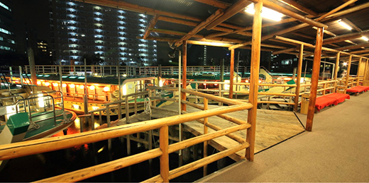 Guidance to embarkation ground